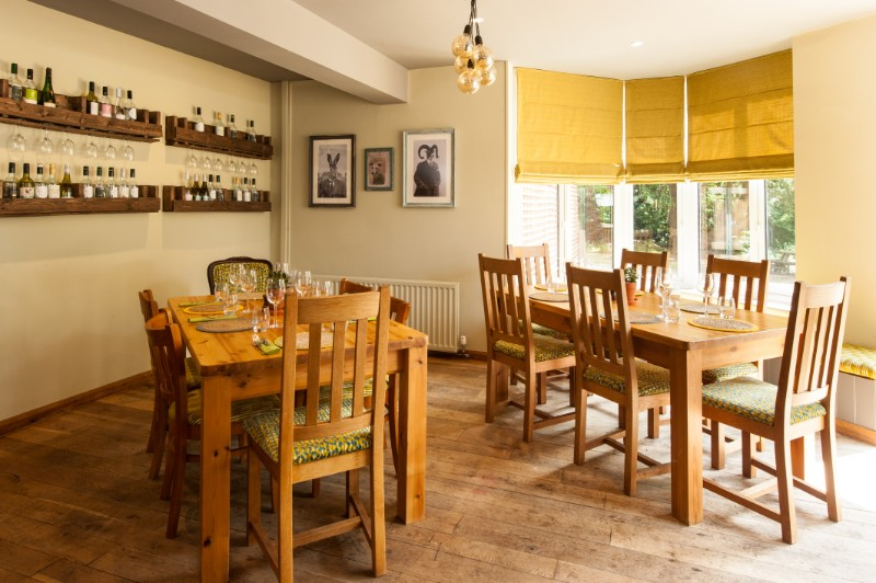 Private dining area ideal for group booking and large parties